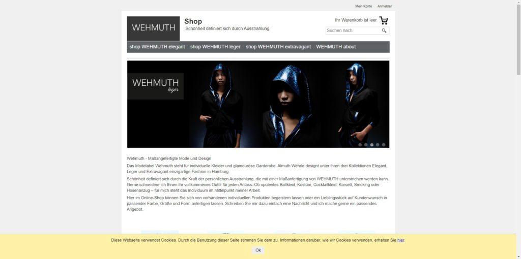 Wehmuth Shop