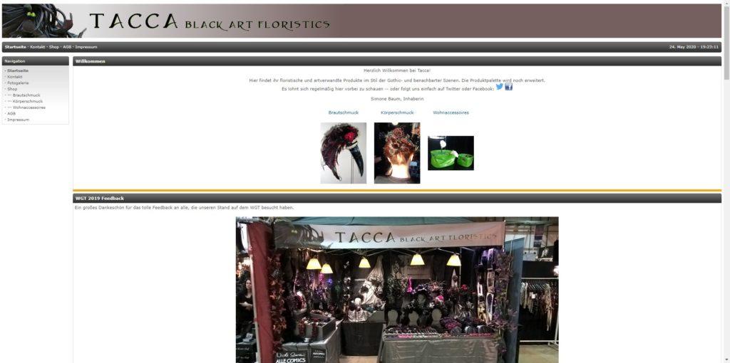 Tacca - Black Art Floristics